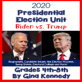 2016 Presidential Election Unit, Biographies, Issues, More!