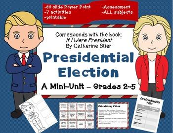 "Presidential Election Grades 2-5 mini unit; ""If I Ran for"