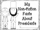 Presidential Facts A Non-Fiction Writing Project