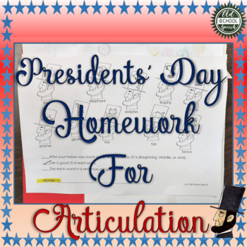 Presidential Homework for Articulation