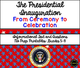Presidential Inauguration Informational Text