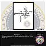 FREEBIE Presidential Inauguration Oath of Office Poster
