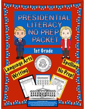 Presidential Literacy No Prep Packet