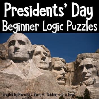 Presidential Logic Puzzles