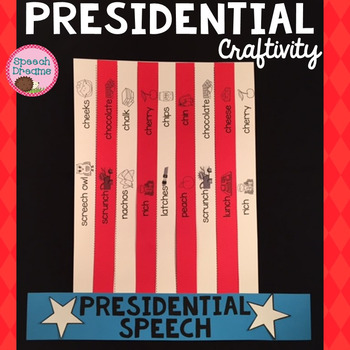 Presidents' Day Top Hat Speech Therapy Craft {articulation