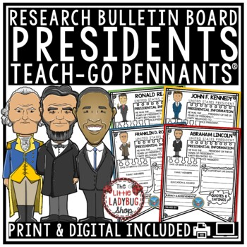 Presidents Research Brochures [Presidents' Day Research & Rubric]