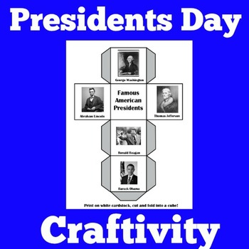 Presidents Day Activities | Presidents Day Craft | Preside