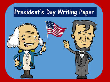 FREE Presidents Day Writing Paper