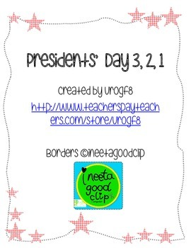 Presidents' Day 3, 2, 1
