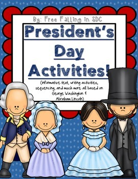 President's Day Activities (informative texts, crafts, wri
