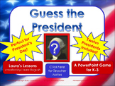 Presidents Day Lesson Activity:  Guess the Presidents Powe