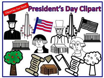 President's Day Clipart