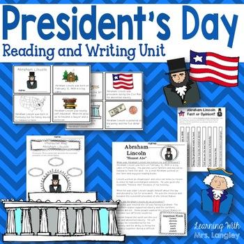#presidentsdaydeals President's Day ELA Activities