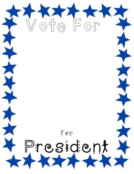 Presidents Day Election Activity