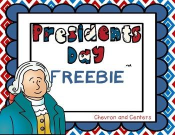 Presidents Day FREEBIE