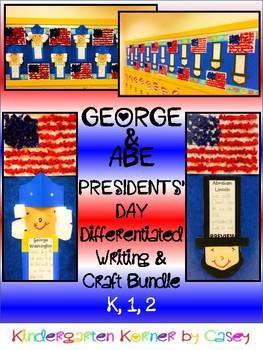 Presidents' Day George Washington Abe Lincoln Bulletin Boa