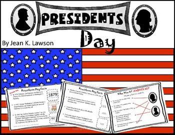 Presidents Day / George Washington's Birthday -- Make a Po
