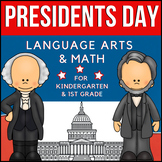 President's Day Kindergarten / 1st Grade Unit