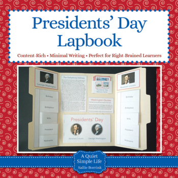 Presidents' Day Lapbook or Interactive Notebook