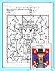 Presidents' Day Math Color by Number: George Washington, A