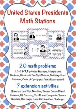 United States President Math Stations