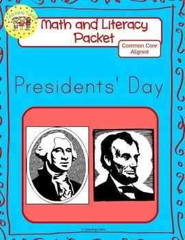Presidents' Day Worksheets Emergent Reader Task Cards