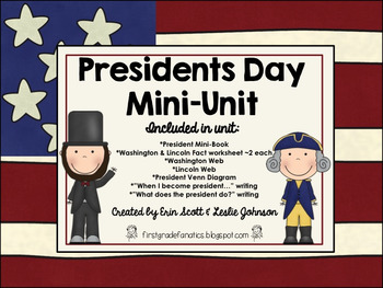 Presidents Day Mini-Unit