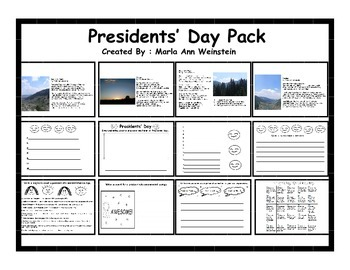 Presidents' Day Pack