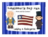 President's Day Print and Go Centers