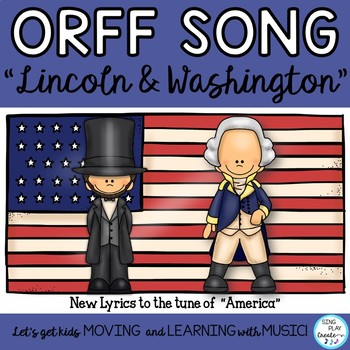 "President's Day Music Lesson and Game: ""Lincoln and Washin"