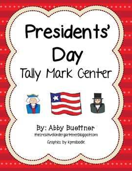 Presidents' Day Tally Mark Center