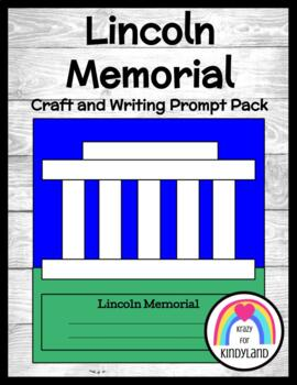 Presidents' Day / US Symbols Craft and Writing: Lincoln Memorial