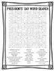 Presidents' Day Vocabulary Bingo