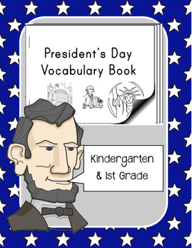 Presidents Day Vocabulary Mini-Book