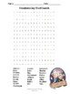 Presidents Day Word Search Puzzle