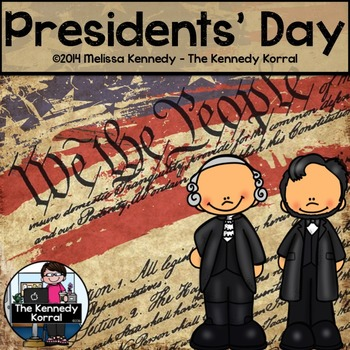 Presidents' Day: Washington and Lincoln {Cut & Paste & Act