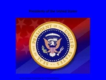 Presidents PowerPoint - Executive Branch, History, Governm