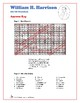 Presidents Word Search and Fill in the Blanks - William H.