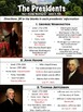 Presidents Worksheet Part 1