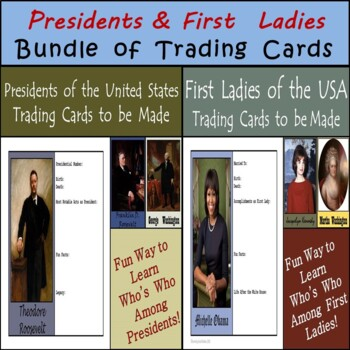 Presidents and First Ladies of the United States - Trading