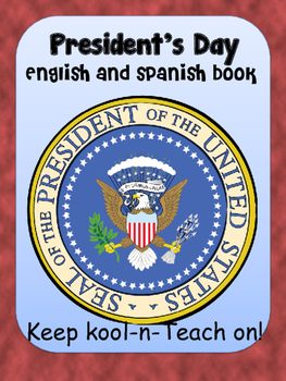 Presidents' day book- English & Spanish