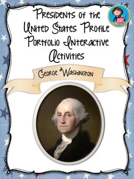 Presidents of America Profile Portfolio Interactive Activi