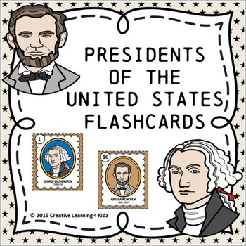 Presidents of the United States Flashcards