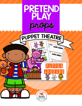 Pretend Play Props- Puppet Theatre
