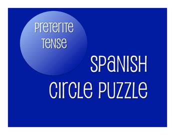 Spanish Preterite Circle Puzzle