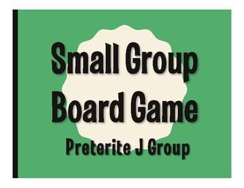 Spanish Preterite J Group Board Game