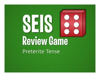 Spanish Preterite Seis Game