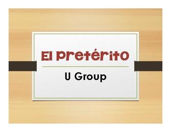 Spanish Preterite U Group Notes