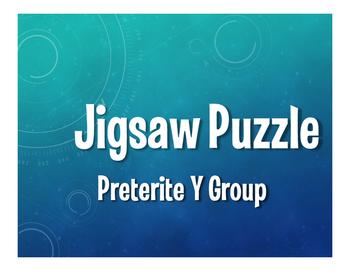Spanish Preterite Y Group Jigsaw Puzzle