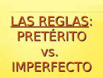 Preterite vs. Imperfect